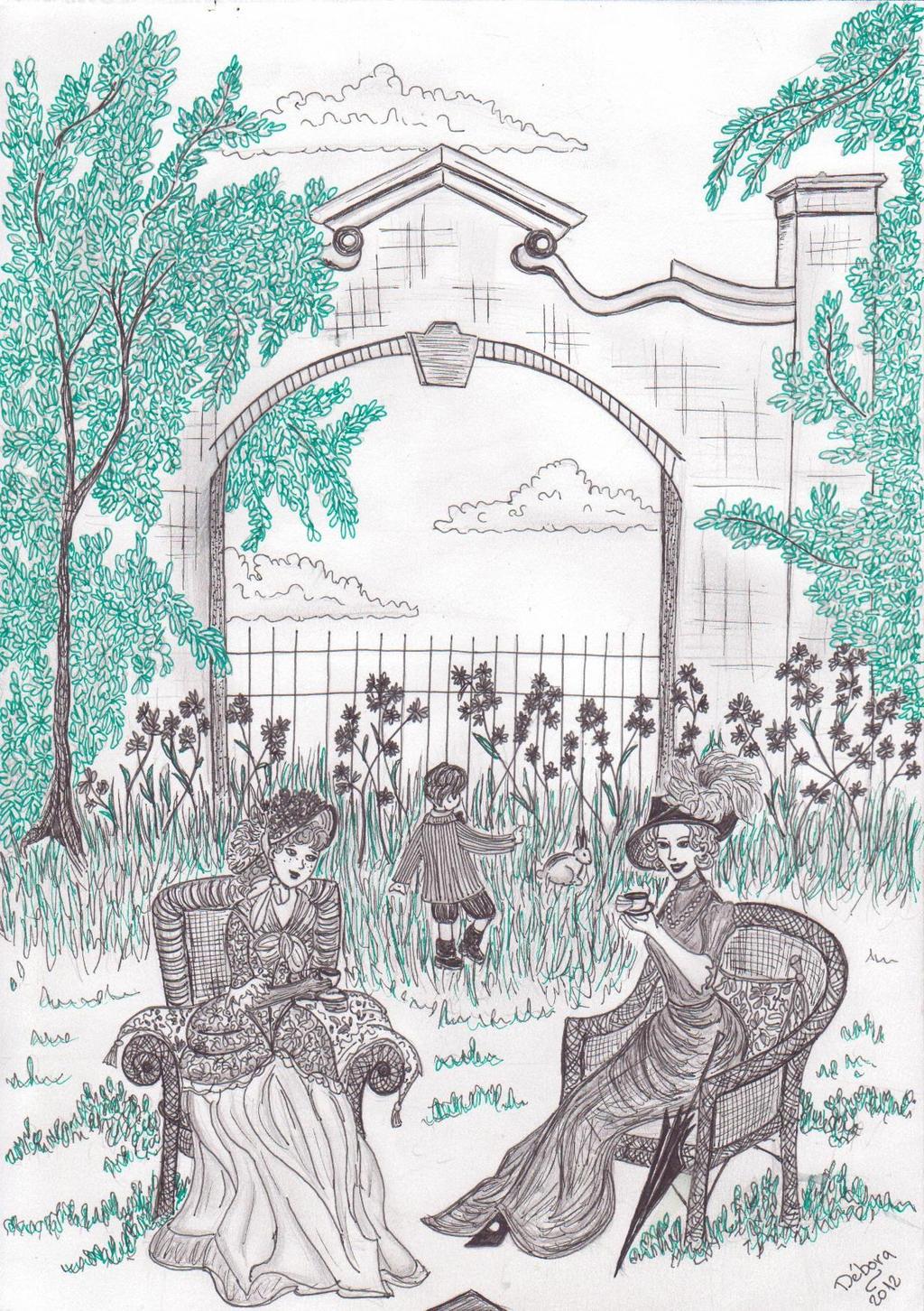 Victorian Garden Tea by deborafischer