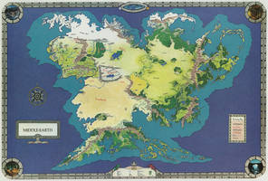 Middle-earth world map _ 2
