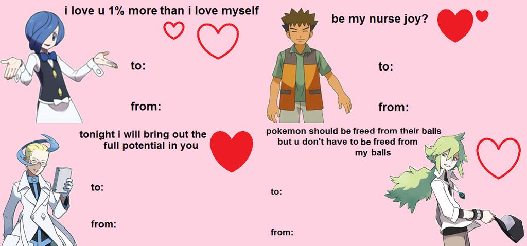 Pokemon Valentines Day Card 7876588 Cartuning Blog Info