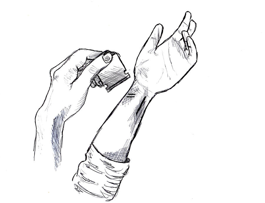 Easy Self Harm Drawings Download