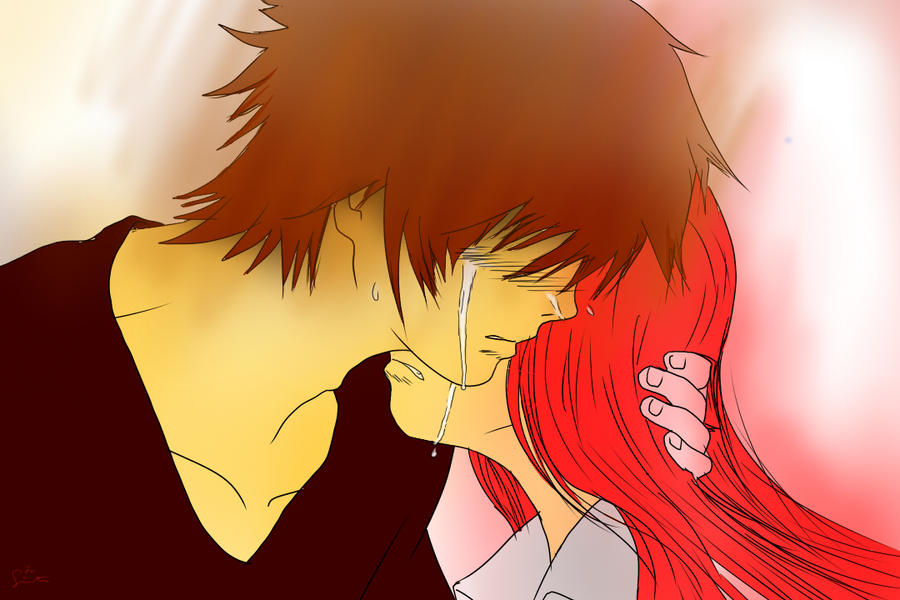 Anime Kid Crying Anime Hug Crying George es Tut