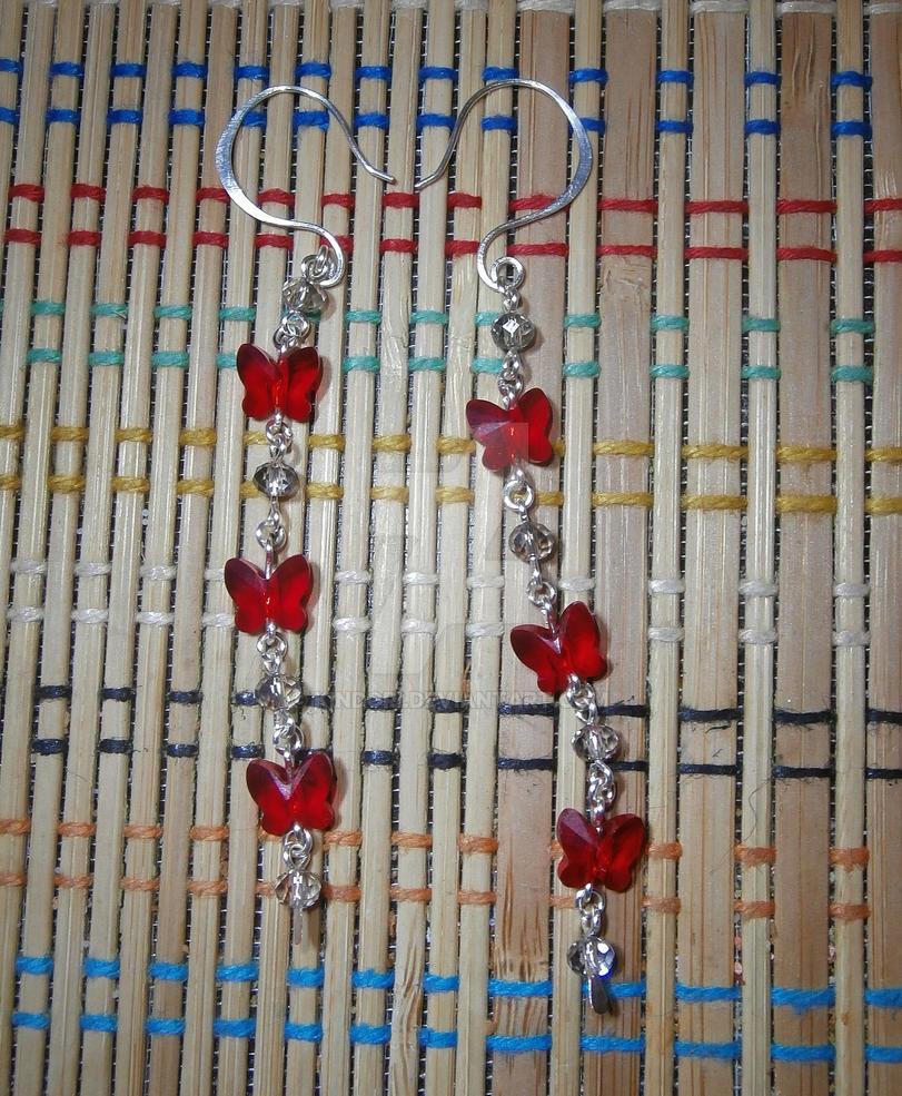 Butterfly Earrings by Kindori