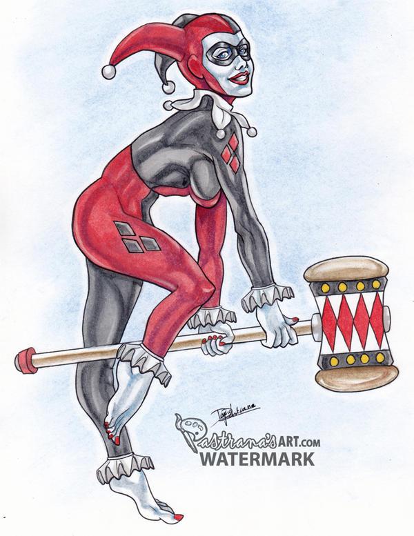 Harley Quinn by Pastranas-Art