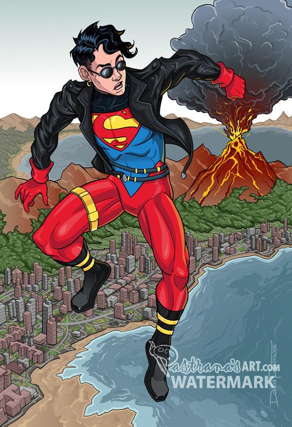 Superboy V3 by Pastranas-Art