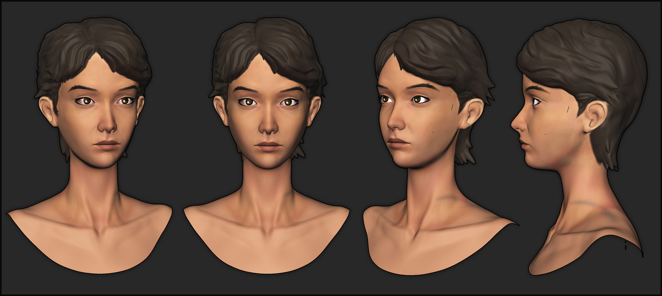 Clementine Telltale S Twd Polycount