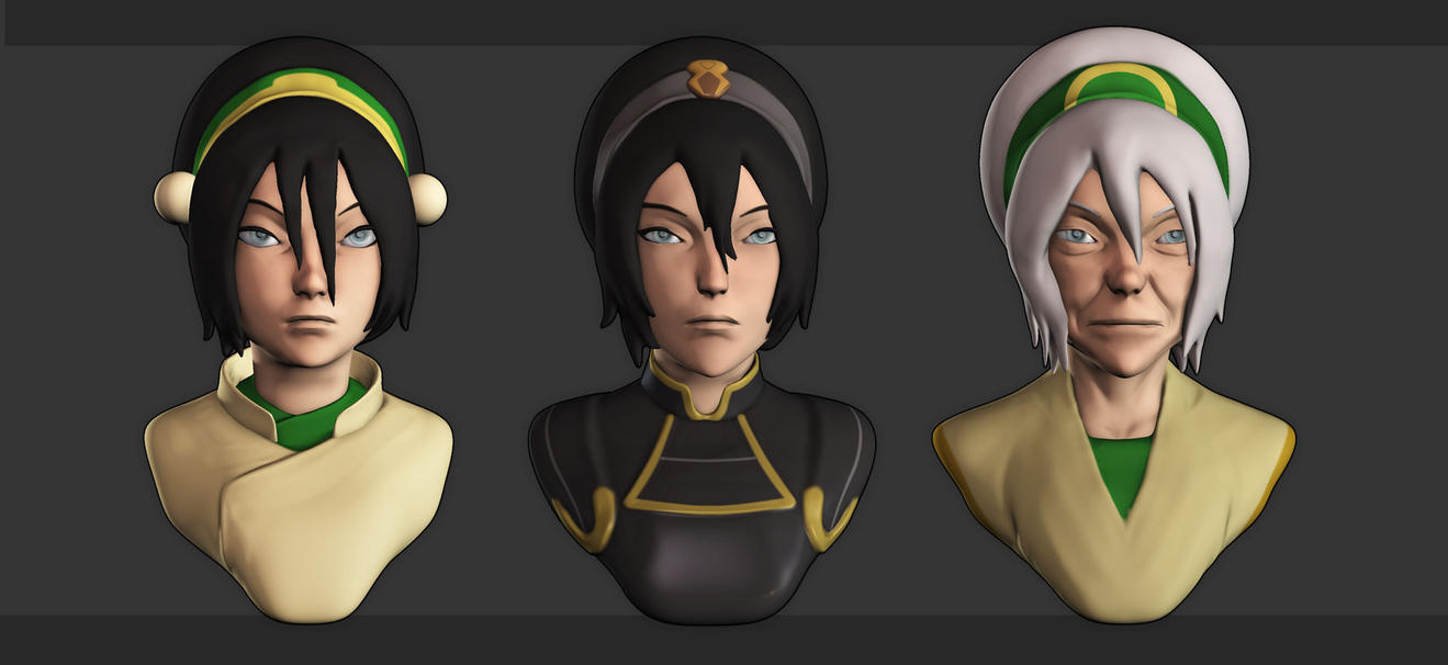[WIP/1] Toph Beifong - Avatar Series by YuliusKrisna