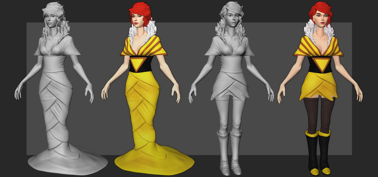 [WIP/4] Red - Transistor by YuliusKrisna