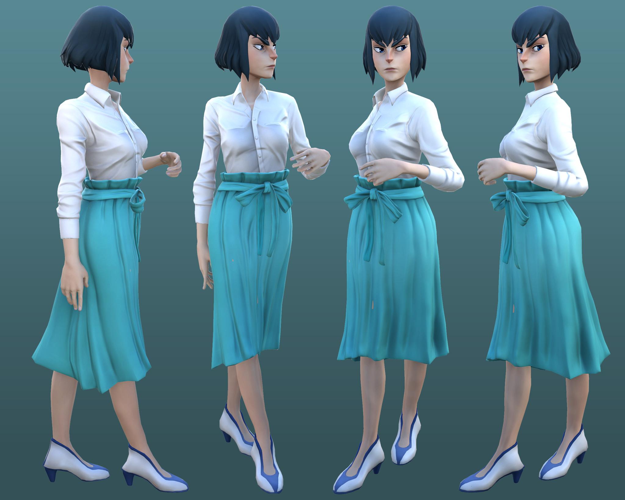 Wip 4 Satsuki Kiryuin By Yuliuskrisna On Deviantart