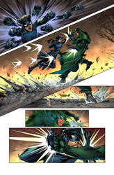 Green Hornet Color