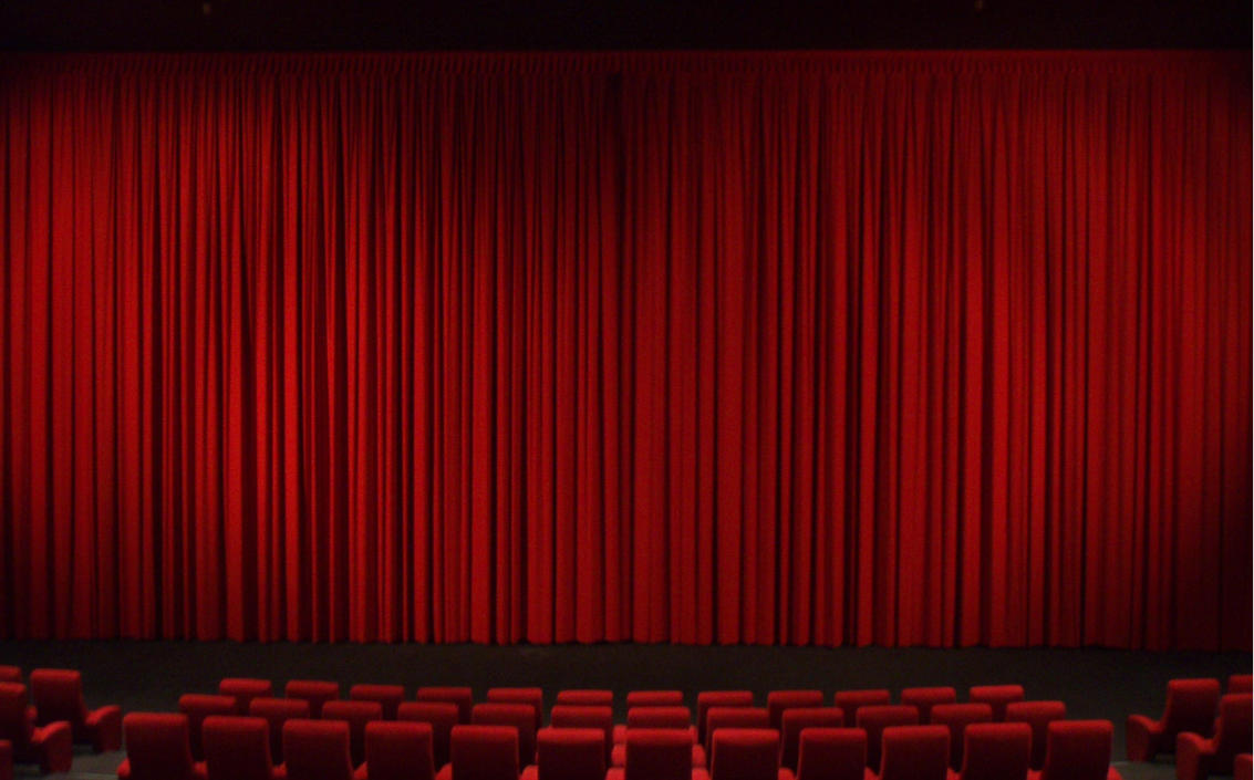 Captivating Theatre Movie Curtains Stock By PyronixcoreStock ...