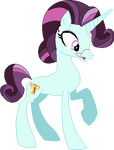 Principal Cinch as a Pony