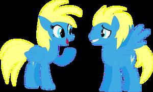 (Object to Pony) Wonderbolt Suit