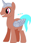 Cyborg as a Pony
