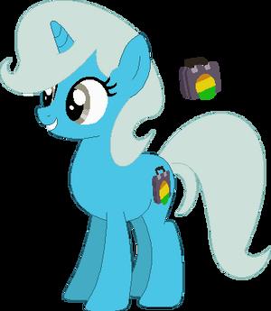 Nicole as a Pony
