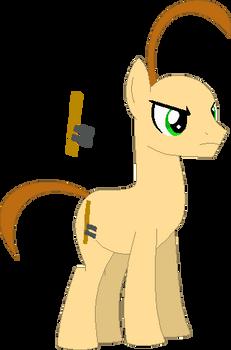 Baldi as a Pony