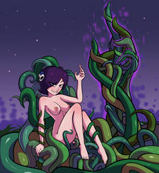 Zone the Tentaclemancer! by RelatedGuy