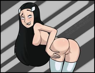 Phantom Girl 2 by RelatedGuy