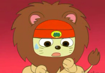 PaRappa the ....Lion by Glowthehedgie