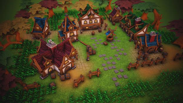 Fantasy  house pack_2