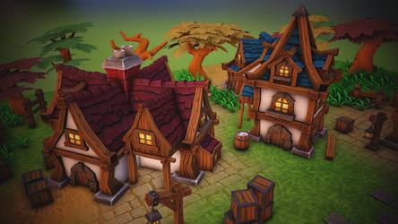 Fantasy  house pack_3