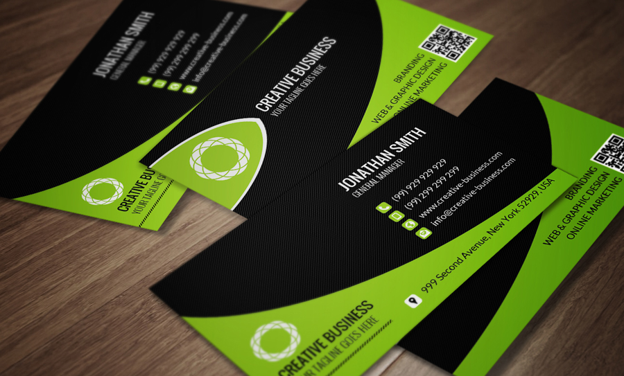 Modern Corporate Business Card SE0044 by annozio on DeviantArt