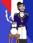 Skipper and Lafayette (Hamilton and PoM Collab)