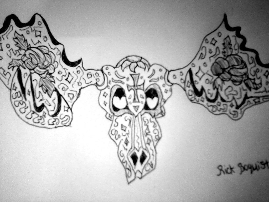 Sugar skull moose by Tazroth on DeviantArt
