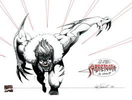 Sabretooth by KSowinski