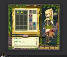 game interface ui by nangeyi