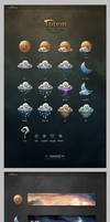 weather icons and wiget