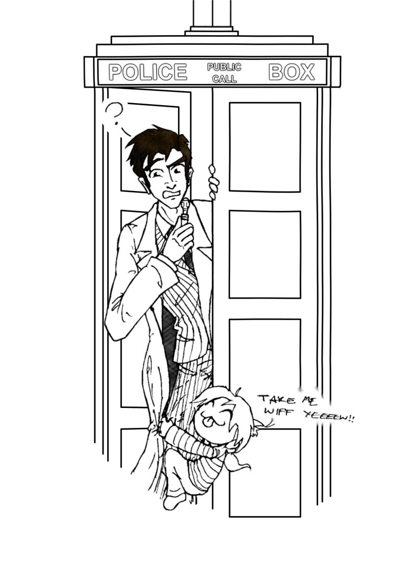 Tardis doctor who coloring pages coloring pages for Tardis coloring pages