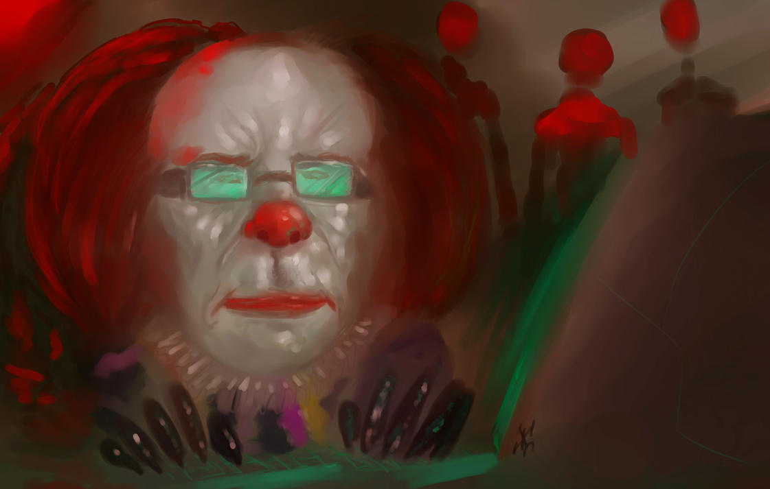 Stephen King by JJcadabro