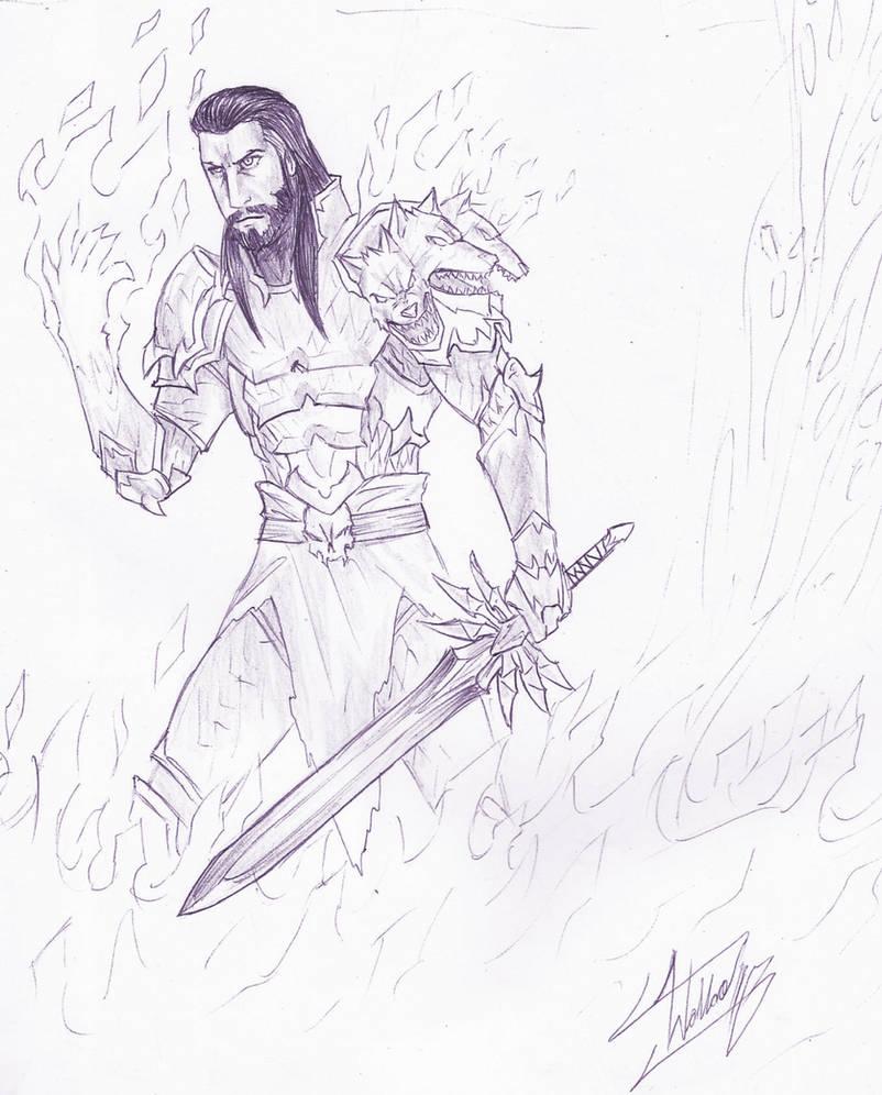 Hades Drawing By Wallacegamer On Deviantart