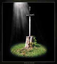 Sword in the Stump by: Wraifen by Brotherhood-Studios