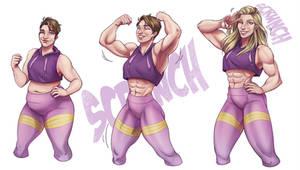Bobbi Superhero Scrunch by PinklePickle