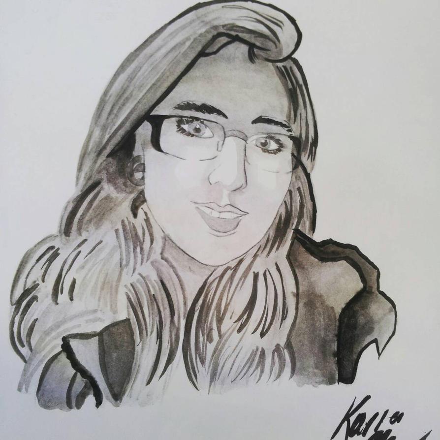 Self Portrait by r3n33gurl101