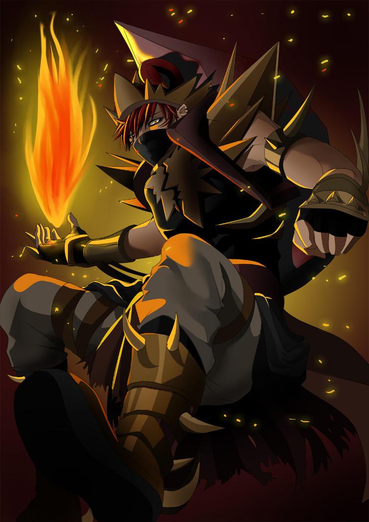 Gatotkaca Ninja mode LOLLL by ahoguu