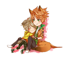 HMLS: the Fox and the Hound by ahoguu