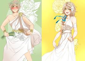 HMLS: The Bride by ahoguu