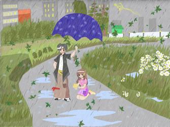 Rainy days by rekazan