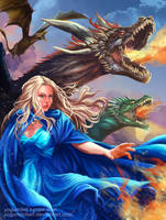 Daenerys Targaryen by YogurtDollArt