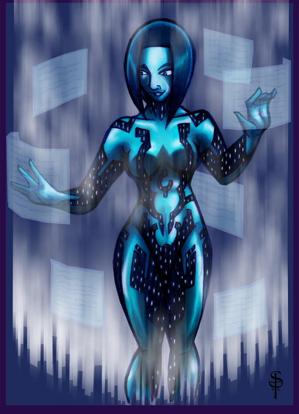 Cortana by saintpepsi