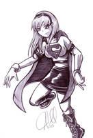 Supergirl by saintpepsi