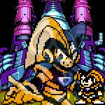 Rockman 7: FC - Forte Avatar by Naldrag