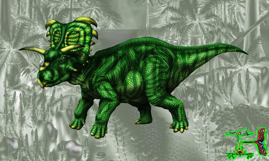 Medusaceratops 1 by IEHawesomesauce