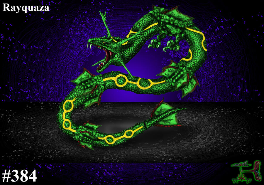 how to get rayquaza in black