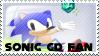 Sonic CD Fan Stamp