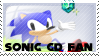 Sonic CD Fan Stamp by Ana-Mae