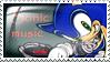 Sonic Music Stamp