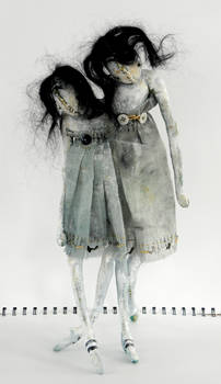 Anouk No.2 Handmade Art Doll